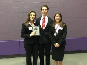 Laura Lenkey, David Hamilton and Jordan Gloyeske make up the Financial Analyst Team.