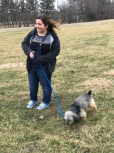 Senior Emma Franco, chose to take J. Cole on a walk.